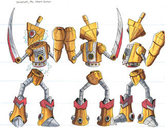 character design: Yugoroth by silverleofirius