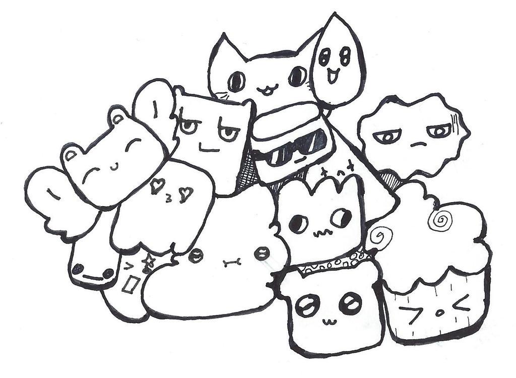Smile 'Doodle' by coriek99