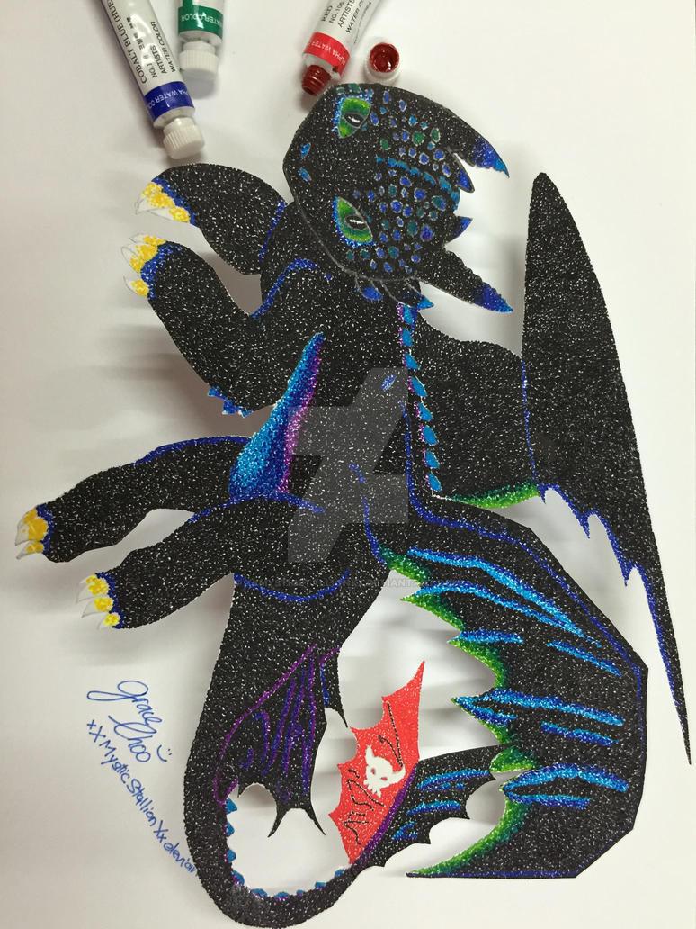 Alpha Dragon (3D Version) :3 by xXMysticStallionXx