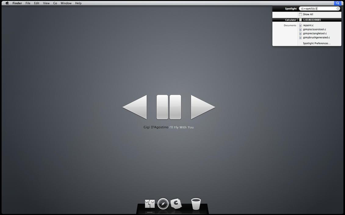 Graphene Desktop by c55inator