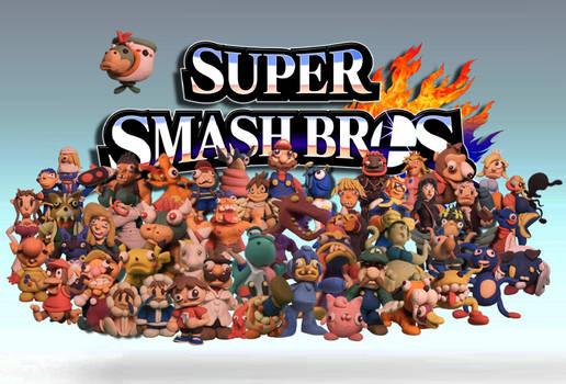 Smash bros collection- done