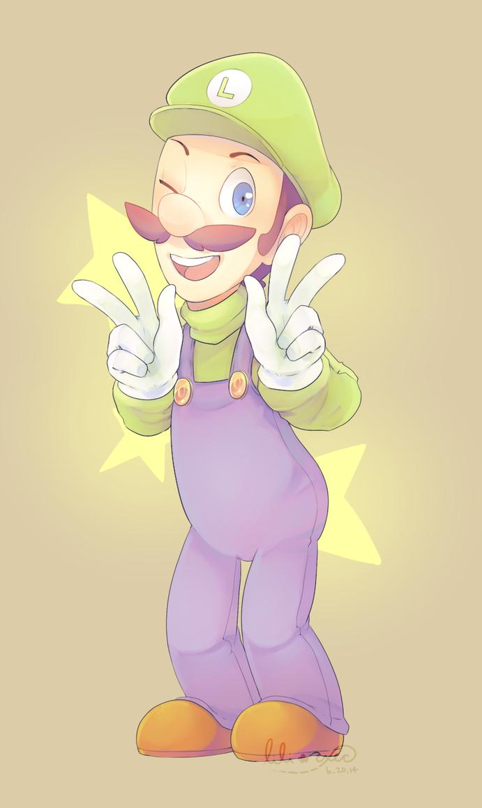 Luigi is my superstar/// by LILI-exec