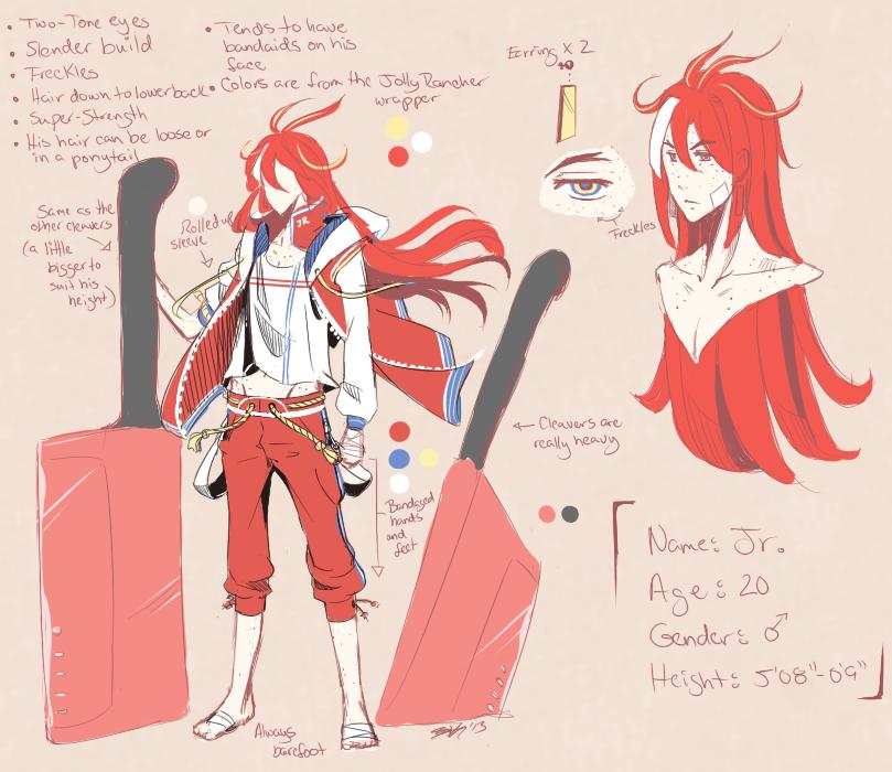 Jr. Concepts by Sakura-Pumpkin