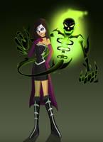 Teen Titans OC - Sugar Skull by HuggableRogue