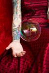 Scarlett Von Sinn and bubble by KissTheMastersFeet