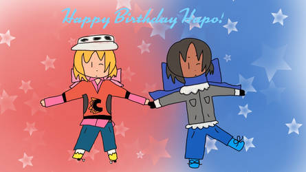 (IAMP/PC) Birthday Card for Hapo
