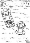 (Inktober) Day 28 - Float