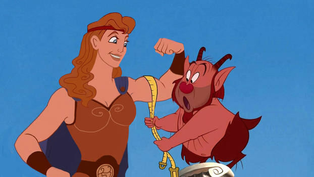 Hercules and Filottete - Hercules genderbend