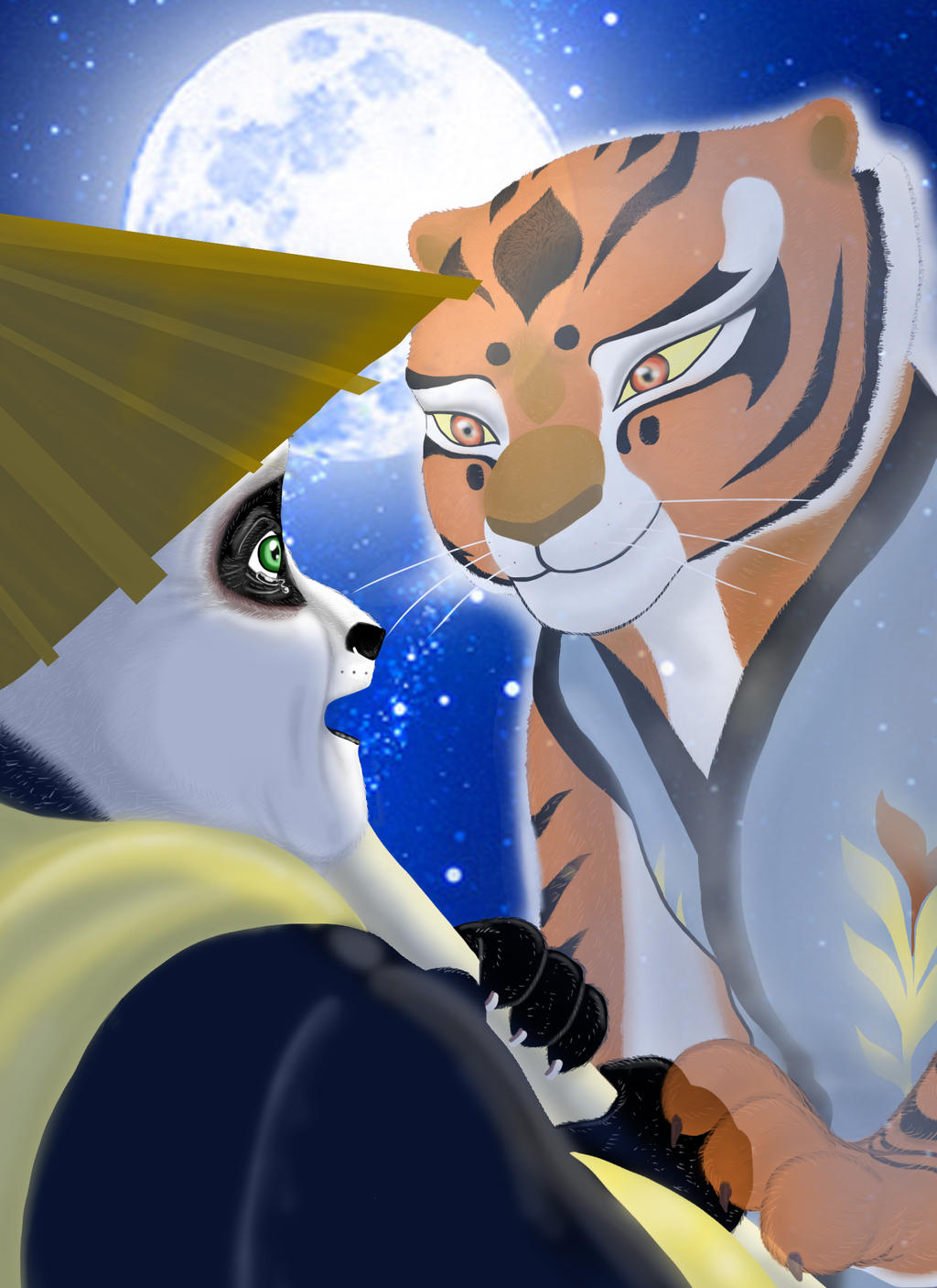 tigress and po relationship fanfiction twilight