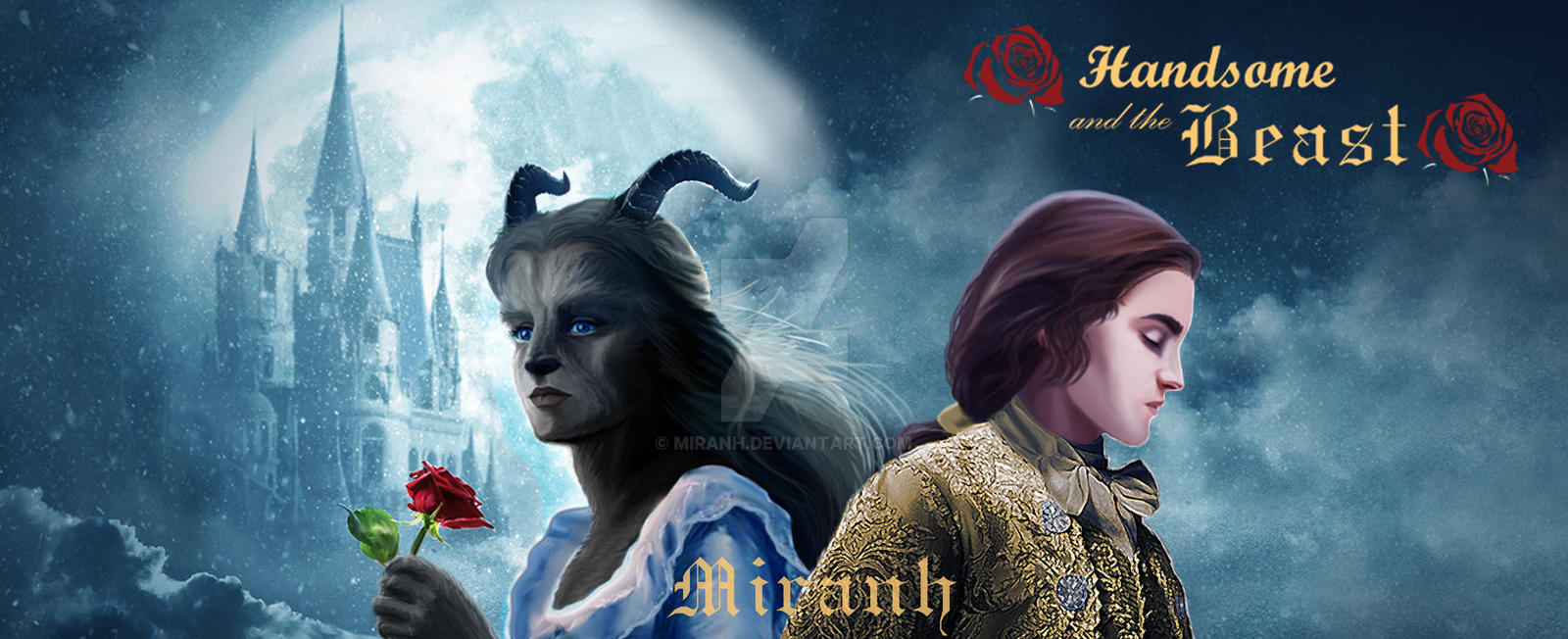 Handsome and the Beast - Live Action version by Miranh on ...