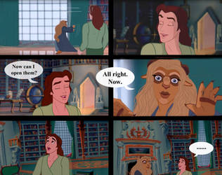 Handsome and the Beast - The library - Pag 211 by Miranh