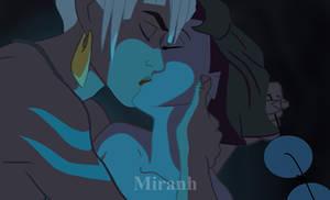 Atlantis Genderbend - kiss