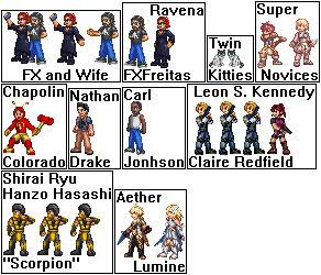 Random Characters 32bits