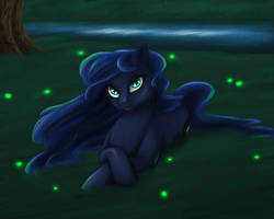Princess Luna as Earth pony by Comsing8