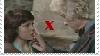 Sarah Jane x Third Doctor Stamp by TheWhovianHalfling