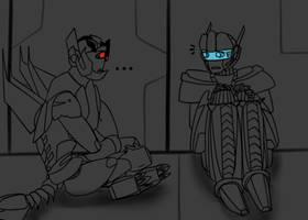 TF - A Little Con Meets A Little Bot In A Closet