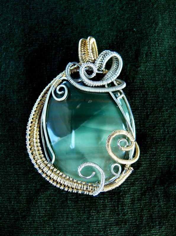 Wire wrap pendant by jwall805 on deviantart wire wrap pendant by jwall805 mozeypictures Image collections