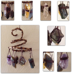 Chakra Stones Mini-Mobile