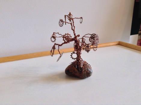 Steampunk Gear Tree 1
