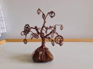 Steampunk Gear Tree 4