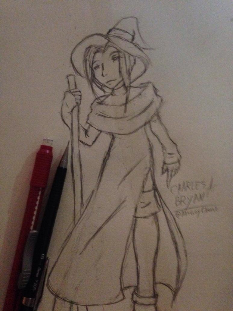 Witch Sketch by ArtGuyCharlie