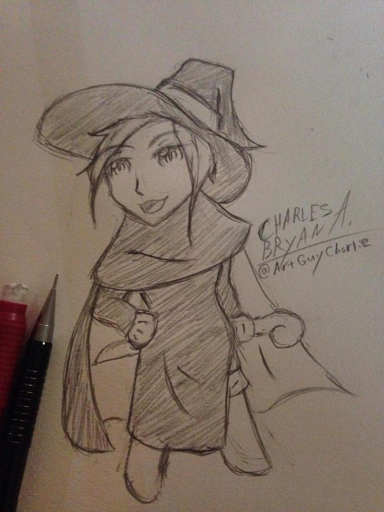 Chibi Witch by ArtGuyCharlie