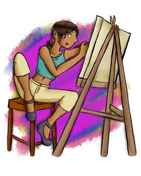 Painter Girl