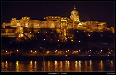 Budapest city lights - 8 by gegetf