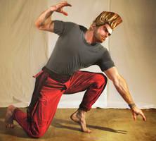 Paul Phoenix Epic Pose by NegroSaki