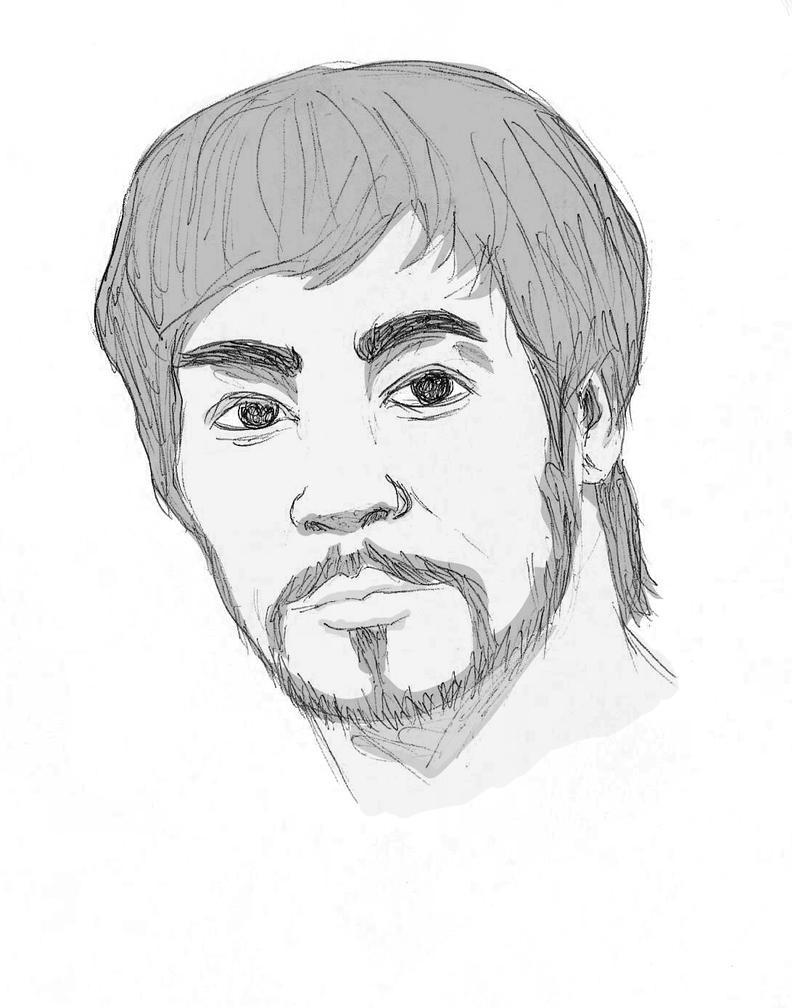 Bruce Lee Portrait by NegroSaki