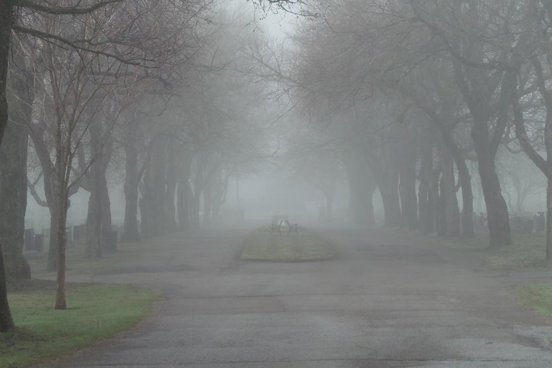 Foggy Graveyard 1 By AtariRaccoon
