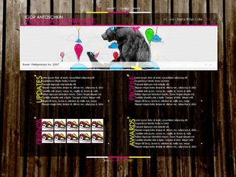 Portfolio Design by Twink-de