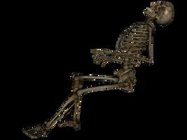 Skeleton Dead by markopolio-stock