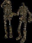 Skeleton - Head Trade 4- PNG