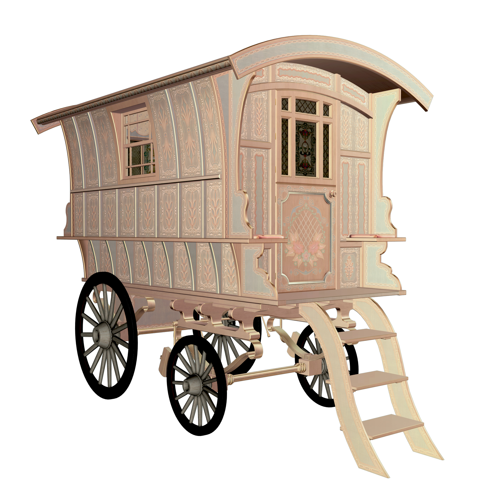 Gypsy Wagon 1 by markopolio-stock on DeviantArt