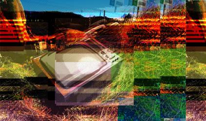 Broken TV by randomhuman