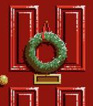 Pixel Dailies - Wreath