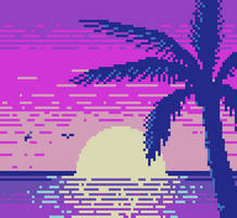 Pixel Dailies #PalmTree by randomhuman