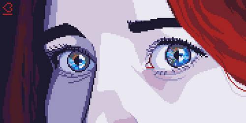 Pixel Dailies #Eyes by randomhuman