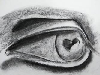 Plaster Eye Form by randomhuman