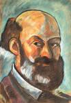 Cezanne Portrait by randomhuman