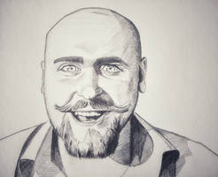 Happy Beard Man