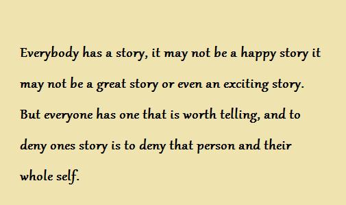 Everyone Has A Story By EverlastingxNight On DeviantArt