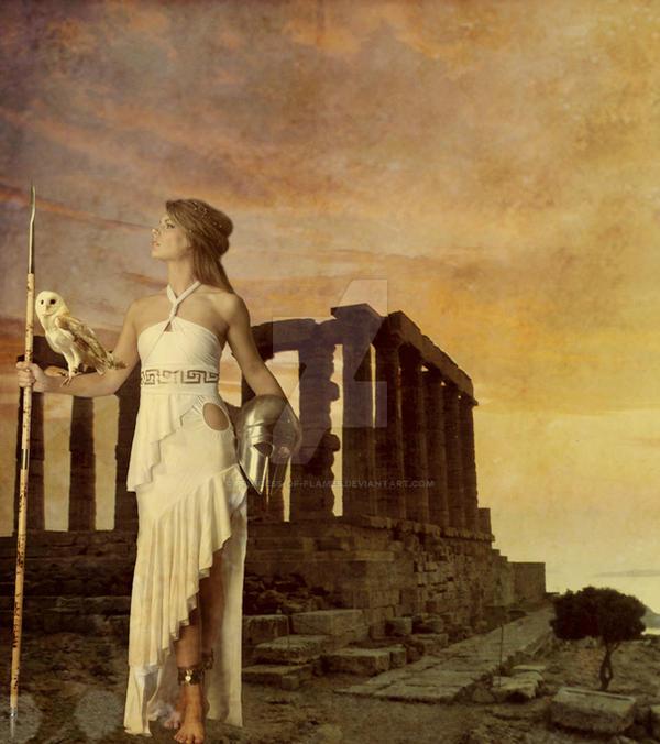 Greek Goddess: Athena by Princess-of-flames on DeviantArt