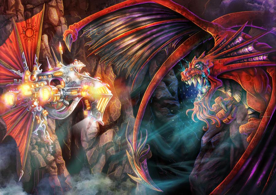 El combate del Osiris by LANZAestudio