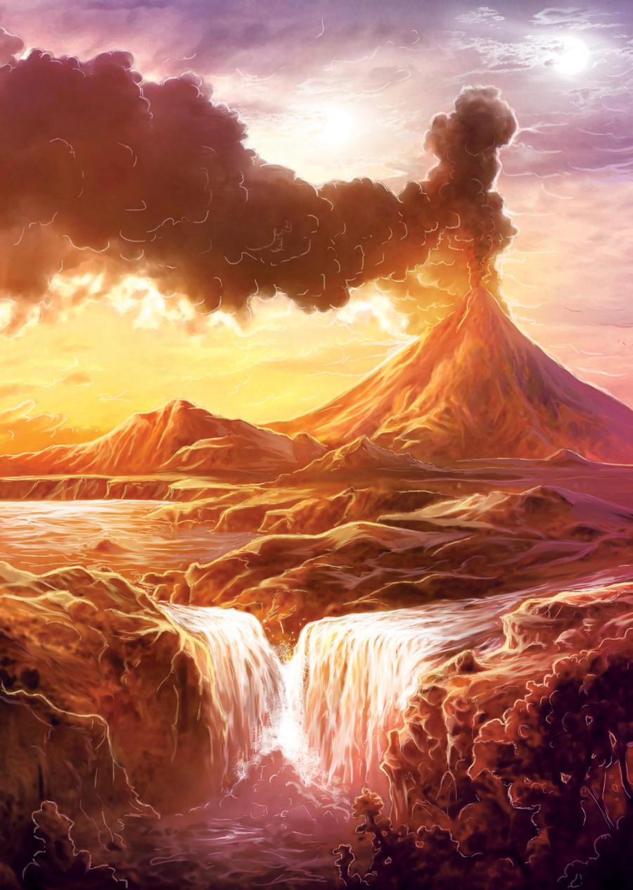 ROLEAGE Volcan de Marmonia by LANZAestudio