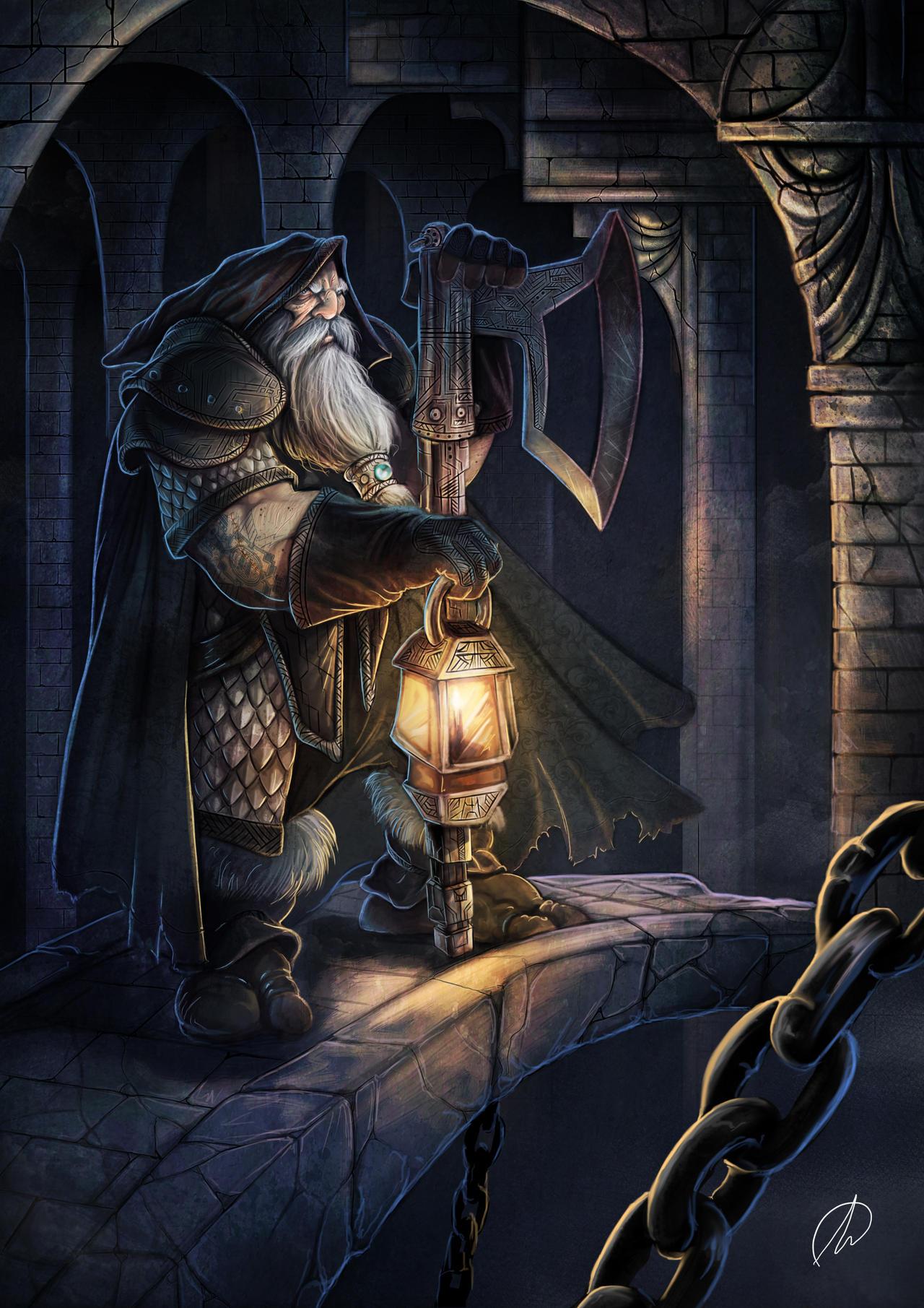 Dwarf Cavern by TheMonkey-DavidLanza