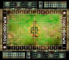 BLOOD BOWL BOARD GAME