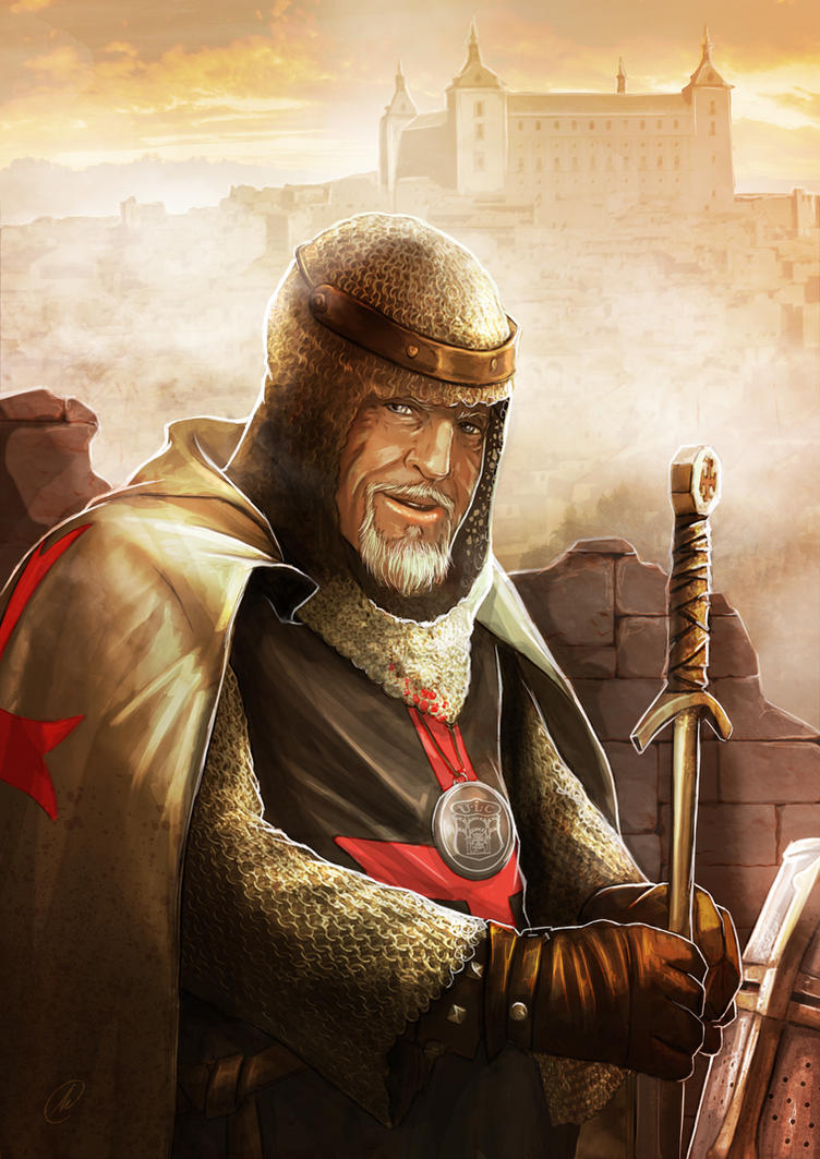 Templario Mariano Garcia by TheMonkey-DavidLanza