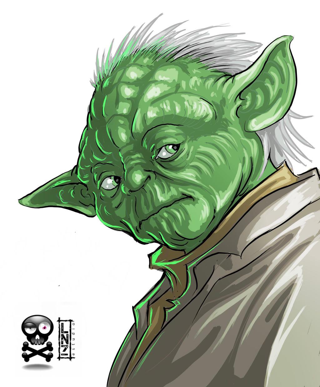 Sketch Yoda by LANZAestudio